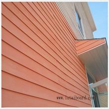 wood grain exterior wall decoration cladding fiber cement calcium silicate cladding partition paint cladding decorative heat