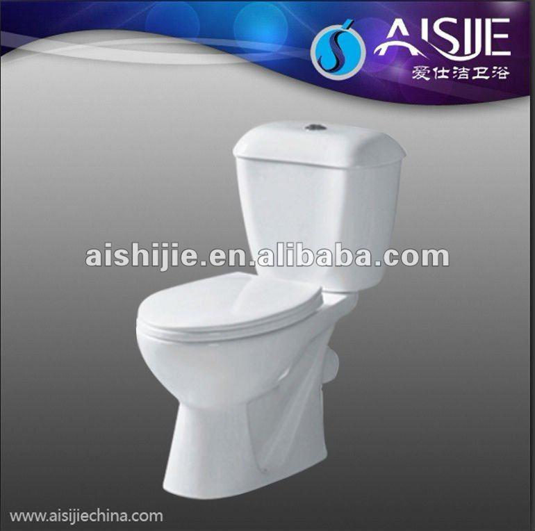 B1110 Bath Sanitaryware Ceramic Two Piece Handicapped Toilet