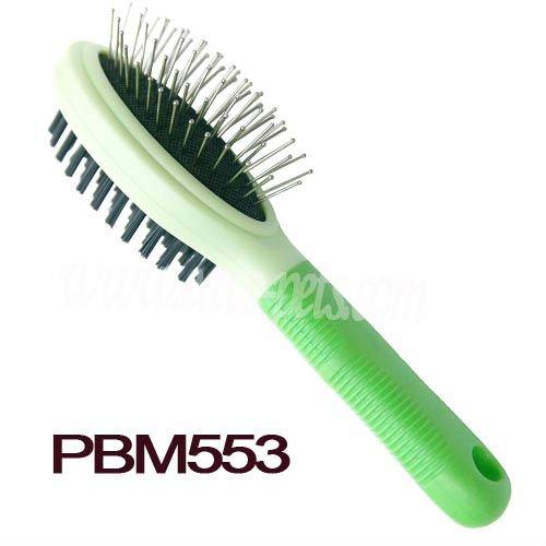 PBM553 PP Material Pet Brush Pet Supplies Online Green