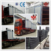 China Prefered Yonghua CE&ISO cassava chips continuous screw conveyor mesh belt dryer / Wood Palm Dryer Machine