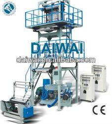 Blow machine automatic, Blowing machine of plastic film(pe/hdpe/ldpe/lldpe),Automatic blow molding machine with deflashing