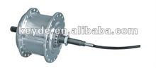 250W brushless electric bicycle hub motor/roller brake motor