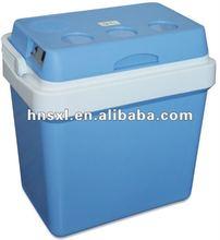 24L AC100-240v,DC12v mobile car fridge(car cooler and warmer double used)