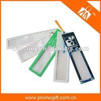 2014 pvc ruler magnifier for promotional