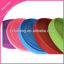 Different colored elastic velcro loop strap