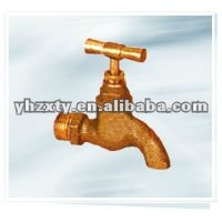CE 1/2 yellow Brass water faucet
