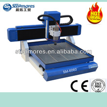 SM-6060 aluminum cutting machine CNC router for metal sheet