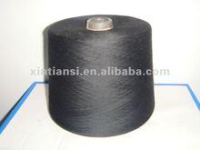 Ne30/1 TC Yarn/PC Yarn/Polyester cotton yarn Super Black for knitting