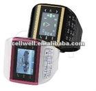 CW-Q8 watch mobile phone dual sim dual standby quadband compass button keypad wrist phone