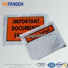 Customized Self-adhesive Waterproof Postal Packing Slip Envelope