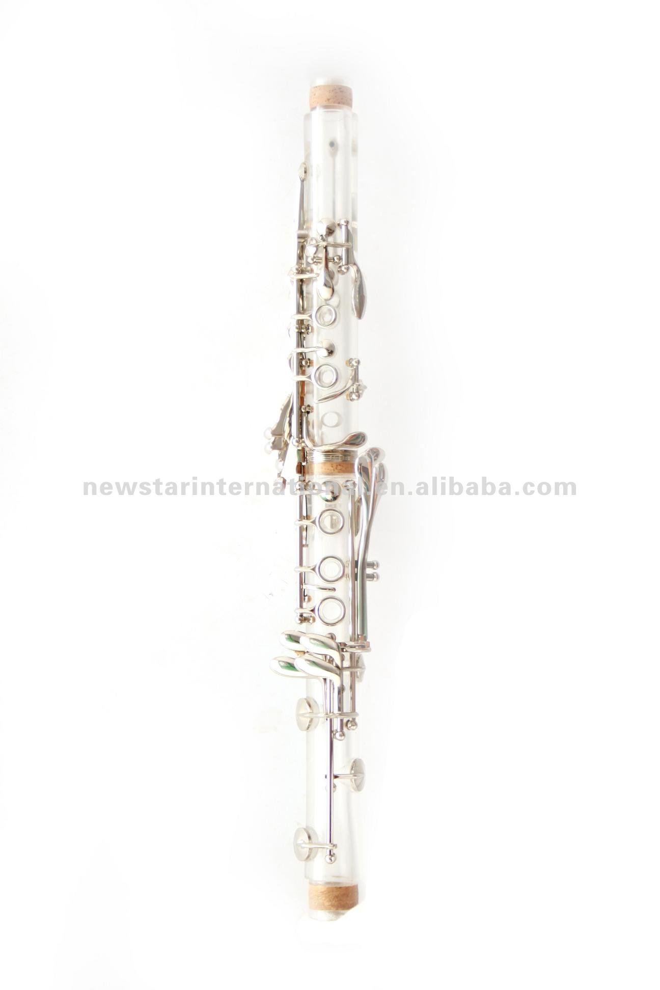 Amber/transparente clarinete ( hcl - 307 )