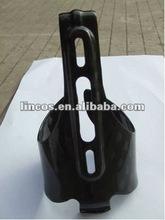 Carbon fiber bike kettle rack/carbon water bottle