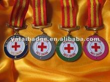 Nigériane rouge croix médaille médaille promotionnel