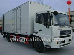 China Dongfeng 4*2 van cargo truck