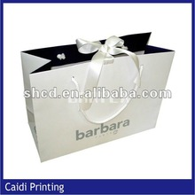 2014 new design luxury paper foldable shopping bag/wedding gift bags