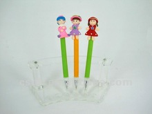 colorful Polymer Clay Kids Cute Collectable Pen