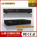 ls visión hd 1080p los precios de la cámara usb dvr cctv h rohs 264 16ch hd sdi dvr