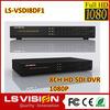 LS VISION hd 1080p camera prices usb cctv dvr rohs h 264 16ch hd sdi dvr