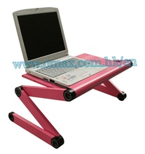 folding computer table with fashion design