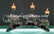 resina mestiere antico elefante supporto di candela