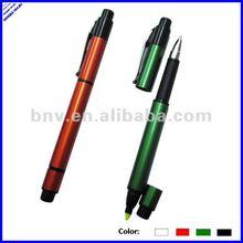644199 multi functional highlighter pen double sided ball pen