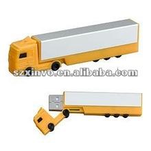 promotional gift truck shape pen drive