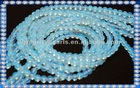 4mm natural moonstone beads with blue reflected light