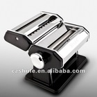 Color Pasta Machine Hand-operated Pasta Making Machine for Fettuccine Stainless Steel
