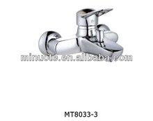 short spout bathroom water bathtub shower combination tap mixer