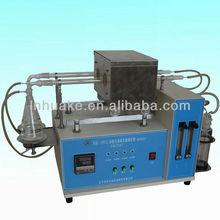 HK-2012 Sulfur content tester for deep color petroleum 2 tubes (tubular furnace method)