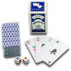 Portable PVC Plastic Mahjong Playing Card