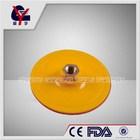with velcro backing polishing pad for with nut/thread wood and car polish 125mm polishing pad