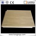 Grano de madera placa de aluminio de chapa decorativa paneles