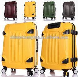 2015 Transformers bumblebee aluminum trolley case/fancy luggage