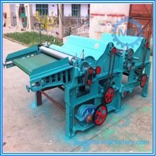 Double rollers raw wool opening machine/wool opener/wool combing machine for quilt