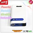 12V car Mini jump starter power bank Multi-functional battery charger for mobile phone LED light SOS