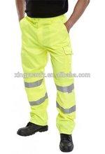 en471 clase 1 polycotton hi visibilidad pantalones pantalones pintor