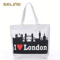 Popular promotional 100 cotton shopping bag