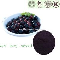 Herbal Extract Anthocyanidins 5%/Ratio Acai Berry P.E.