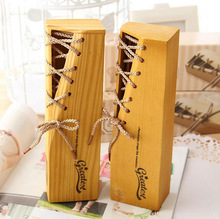 New design delicate wooden pencil display boxes (PP-1407)