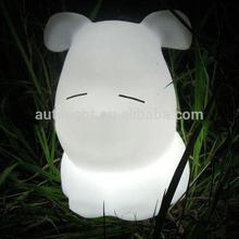 led table lamp/High quality creative dog shape led table lamp