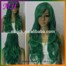 top grau baratos sintéticas long trama moda femal cosplay wig
