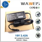 Small order accept 19v 3.42a 5.5*2.5 AC adapter For Lenovo laptop Ideapad S9 S10 S10-2 G230 G430 G450 G455 G460 G530 G550 G555