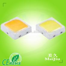 High Lumens 2.8-3.3 Volt Warm White LM231A 45-55L 80Ra 0.5W h4 samsung led 2323