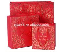 2015 cheap custom paper straw gift bags