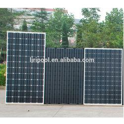 pretty quality 300w black solar panels