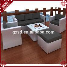 hot slae outdoor sofa furniture back patio conversation sofa sets