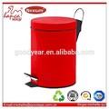 açoinoxidável vermelho do armário de cozinha resíduos bin