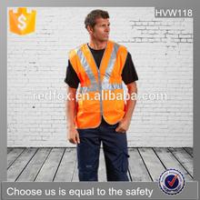 EN ISO 20471 high visibility reflective vest workwear safety vest