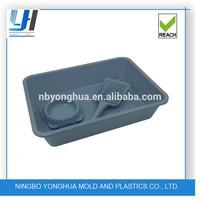 C210 plastic cat litter tray cat litter box, cat bowl and litter scoop set M 40*28*10cm
